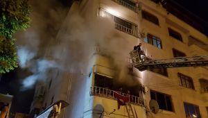 - 5 katlı apartmanda yangın: 3'ü çocuk 14 yaralı