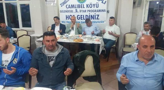 ÇAMLIBEL KÖYLÜLER İSTANBUL'DA İFTARDA BULUŞTU