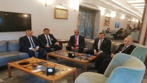 GMİS, TBMM'de milletvekilleri ile bir araya geldi