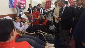 Kan bağışında Türkiye rekoru Kdz. Ereğli'ye geçti