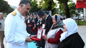 Kıbrıs Gazileri'ne mili mücadele madalyası verildi