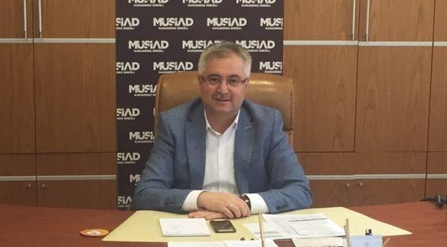 MÜSİAD Başkanı Tat Metal ve Çınar Boru'yu kutladı
