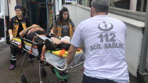 Alaplı'da pat pat kazası: 1 yaralı