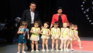 Birinci cimnastik şenliği yoğun katılımla gerçekleşti