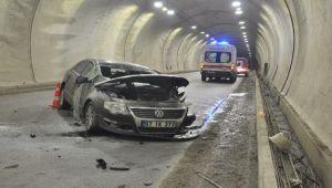 Tüneldeki kazada 1 kişi hayatını kaybetti