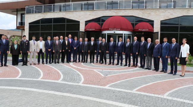 3. Batı Karadeniz Yapı ve Mobilya FuarıÇaycuma da açıldı...