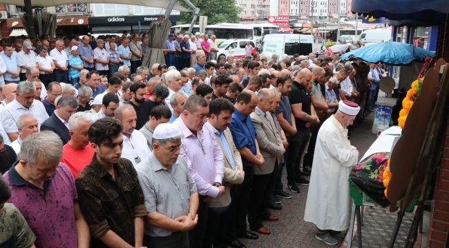 Başkan Demirtaş'ın kayınvalidesi toprağa verildi