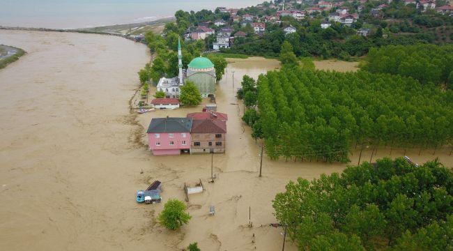 Düzce'deki selin hasarı gün yüzüne çıktı
