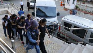 Zonguldak'ta terör örgütü operasyonu: 5 kişi adliyeye çıkartıldı
