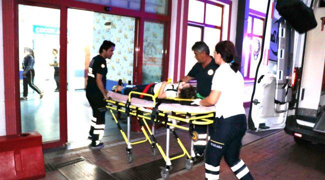 6 yaşındaki Elvanur balkondan düşüp yaralandı