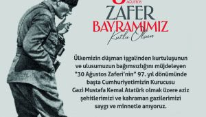 ERDEMİR 30 AĞUSTOS ZAFER BAYRAMINI KUTLADI...