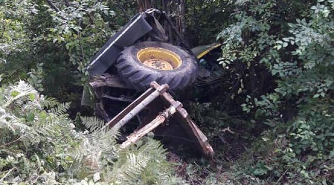 - Gümeli'de traktör kazası: 1 yaralı