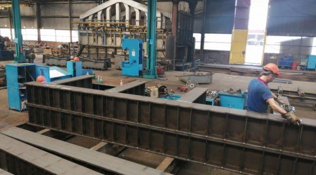 - KARÇEL 1915 Çanakkale Köprüsünün 500 tonluk Support Frame imalatına başladı