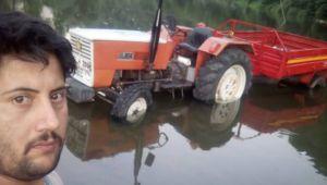 - Kullandığı traktörün altında kalarak can verdi