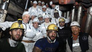 Türk madenciliğinde bir ilk...