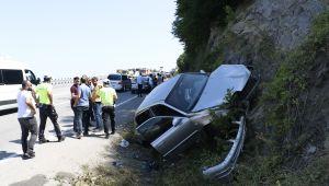 -Zonguldak'ta trafik kazası: 3 yaralı