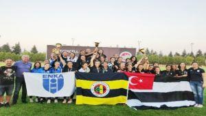 Zonguldaklı sporcu Fenerbahçe forması altında şampiyon oldu
