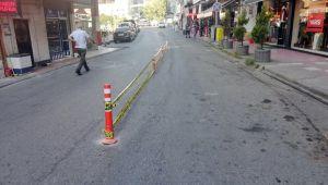 Alaplı Caddelerinde Mavi Çizgi Çalışması Başlayacak...