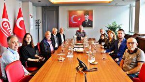Erdemir Genel Müdürü Oral'a teşekkür ziyareti