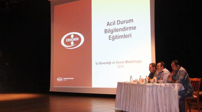 - ERDEMİR'in yeni yatırımlarının ÇED toplantısı yapıldı