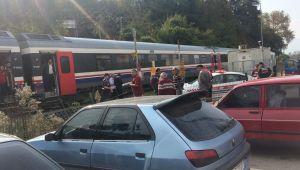 Trenin çarptığı 87 yaşındaki kadın öldü