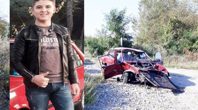 17 yaşındaki Berkay trafik kazasında öldü
