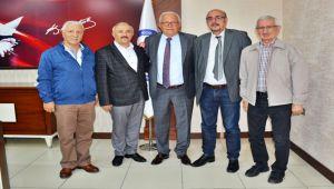 Erdemir Vakfı Yönetiminden Başkan Posbıyık'a ziyaret