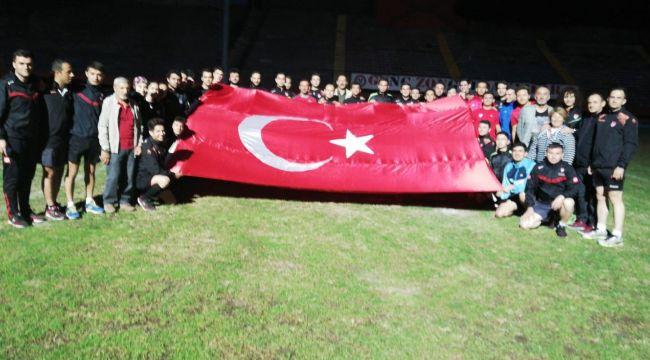 - Hakemler Barış Pınarı harekatına destek verdi