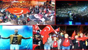 Cumhuriyet Yürüyüşü ve Oğuzhan Koç konseri...