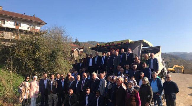 - AK Parti Milletvekili Türkmen Ereğli-Devrek Yolu'nu inceledi