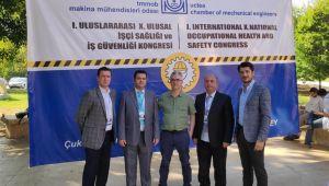 - ERDEMİR ve İSDEMİR İş Sağlığı ve Güvenliği Kongresine katıldı