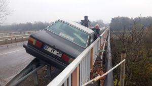 - Filyos nehrine düşmekten korkuluklar kurtardı