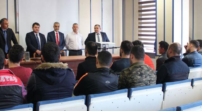 - GMİS'ten yeni madencilere seminer