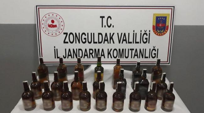 - Jandarmadan kaçak içki operasyonu: 1 gözaltı