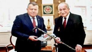 Kaçmaz'dan Yargıtay Başkanı Cirit'e ziyaret