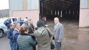 Kdz. Ereğli Belediyesi cüruf geri kazanım tesisini mühürledi
