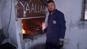 Kuruluş Osman dizisi kılıç ve baltalarıZonguldak'ta hazırlanıyor