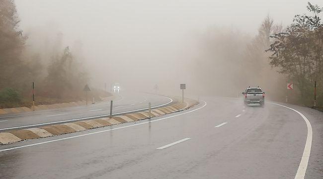 Zonguldak'ta sis, görüş mesafesi 50 metreye düştü