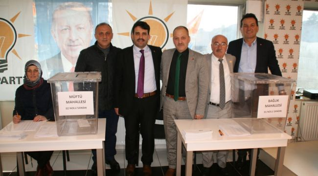 - AK Parti Kdz. Ereğli'de delege seçimleri başladı