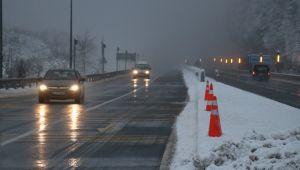 - Bolu Dağı'nda kar yağışı etkisini sürdürüyor