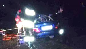 Karı koca çift trafik kazasında öldü