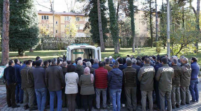 Kazada hayatını kaybeden çift için tören düzenlendi