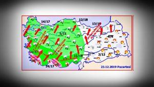 Marmara'daki fırtına Karadeniz'e yaklaşıyor!
