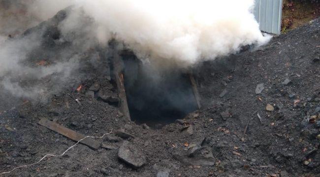 51 kaçak kömür ocağı dinamitle patlatıldı