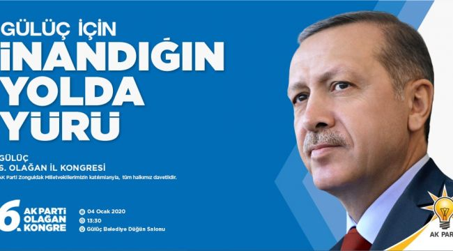 AK Parti Gülüç'te kongreye gidiyor