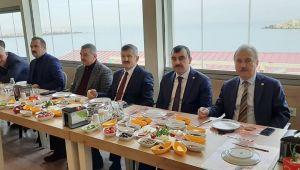- AK Parti heyeti, 2020 yatırımlarını gazetecilere açıkladı