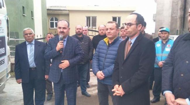 Alaplı'dan İdlib'e yardım tırı yola çıktı