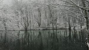 - Doğa harikası Yedigöller beyaz örtü ile kaplandı