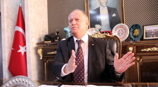 """- Kaymakam Çorumluoğlu """"2019'da 30 milyon TL'lik okul yapıldı"""""""