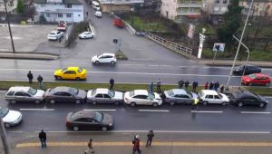 - Kdz. Ereğli'de zincirleme kaza: 7 araç birbirine girdi